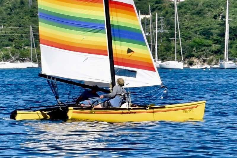 The Thrilling # 1 Hobie Cat Tours